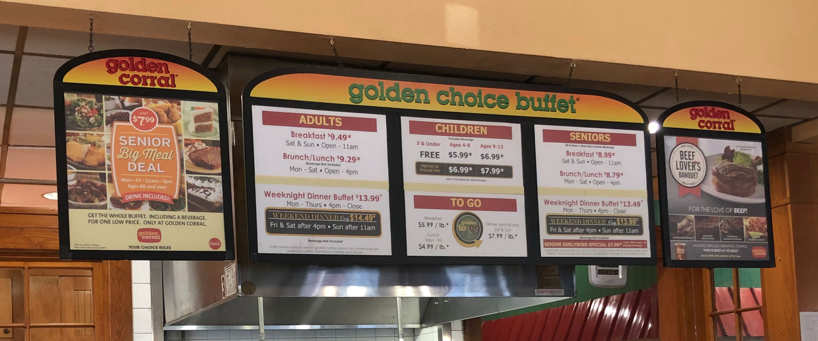 Golden Corral Prices - Best Buffet Prices